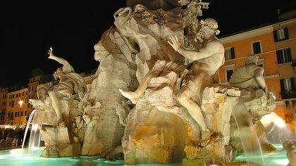 bernini 4 rivers fountain piazza navona