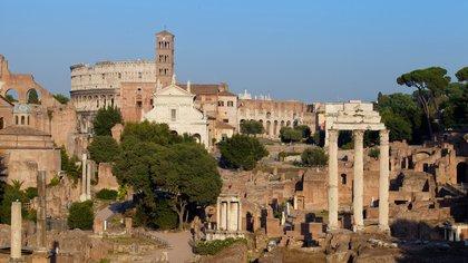 Visita de Roma Antigua y Coliseo