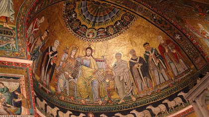 santa maria in trastevere church