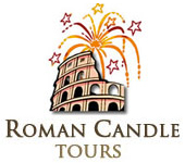 Roman Candle Tours logo