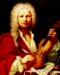 Vivaldi was the genius behind the four violin concerti known as The Four Seasons