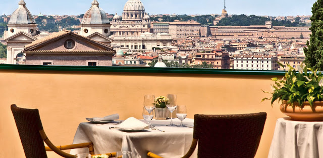 Rome S Best Outside Eateries Welcome To Italy
