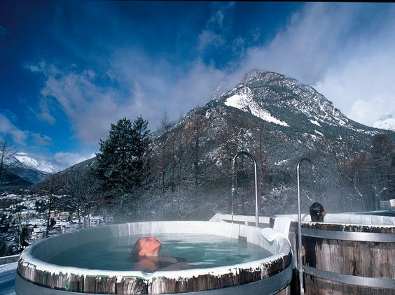 FROM HOT SPRINGS TO SPAS TO ANCIENT SITES ITALY'S TOP